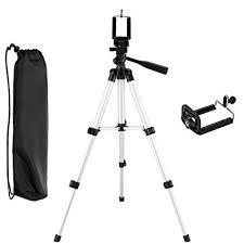 NUTK Portable iPhone Camera Tripod Stand Holder Adjustable