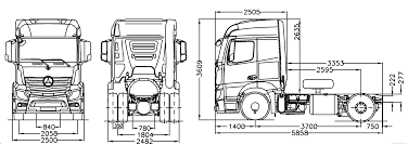 Blueprints > Trucks > Mercedes-Benz > Mercedes-Benz Actros 4x2 Semi ... Tesla Unveils Its Electric Semi Truck And Adds A Roadster The Big Sleepers Come Back To The Trucking Industry Trucks Heavyduty Available Models How Wide Is A Semitruck Referencecom Trailer Length 53 Feet Is Not Standard Evywhere 5 Questions We Still Have About Lil Rigs Mechanic Gives Pickup An Eightnwheeler M1088 Tractor What Of Lorry Range Of Up 600 Miles Says Musk Autocar Wallpaper On Everything Trucks Kenworth Rightsizes New Model