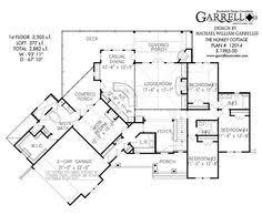 Harmonious Mountain Style House Plans by Lake Cottage House Plan 07011 1st Floor Plan Craftsman