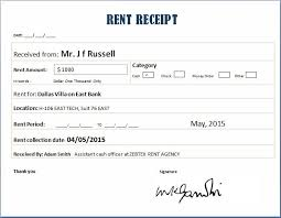 fice Rent Receipt Template In Word Format Trainingables