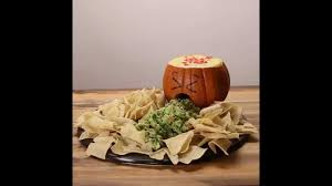 Puking Pumpkin Cheese Dip by Jack O U0027 Lantern Chips And Dip Youtube