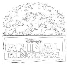 Disney Animal Kingdom Coloring Pages