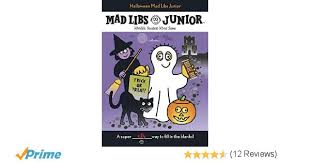 Halloween Mad Libs For 3rd Grade by Halloween Mad Libs Junior Roger Price Leonard Stern