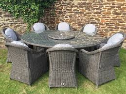 Full Size Of Rattan Arm Chairs Venice 8 Seat Grey Oval Table With Carver Armchairs Oakita