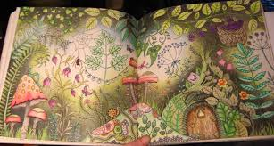 Little Door Hidden In The Forest Enchanted Double Page Faber Castell Pencils