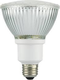 15 watt par30 cfl glass reflector light bulb 2700k warm white e26