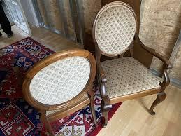 alte stühle esszimmer polsterstühle wohnzimmer in sachsen