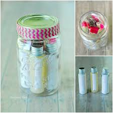 DIY Pedicure In A Jar Kit Tutorial And Printables From The Gunny Sack Here Spa