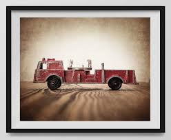 100 Fire Truck Wall Art Amazoncom Vintage Photo Print Engine Boys Room