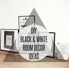 DIY BLACK & WHITE FASHION ROOM DECOR