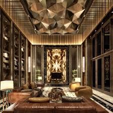 Living Room Luxury Interior Design Ceiling Luxury