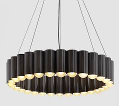 Chandelier Circular Adorable Black Font Lighting String Ceiling