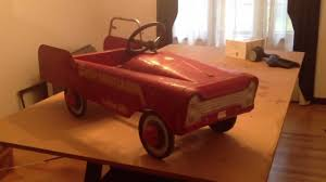 100 Antique Fire Truck Pedal Car Fighter YouTube