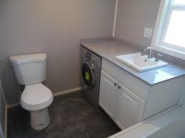 Bathroom W Washer Dryer Combo Park City By Upper Valley Tiny Homes