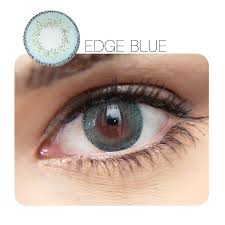 Edge Blue 12 Month Contact Lenses StunningLens
