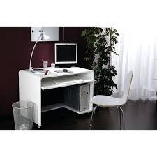 vente unique bureau bureau avec caisson odessa laquac blanc bureau vente unique bureau