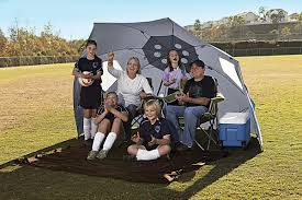 Sport Brella Beach Chair Instructions by Sklz Sport Brella Xl 9 U0027 Sun U0026 Weather Shelter