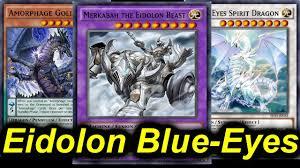 Top Ten Yugioh Decks 2017 by Dark Matter U003d No Extra Deck Blue Eyes Amorphage Lock Eidolon
