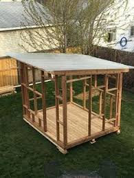 how to build a lean to shed gardens storage and backyard