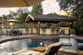 Amazing Idea Backyard Designs With Pool And Outdoor Kitchen ... 16 Smart And Delightful Outdoor Bar Ideas To Try Spanish Patio Pool Designs Pictures With Outstanding Backyard Creative Wet Design Image Awesome Garden With Exterior Homemade Cheap Kitchen Hgtv 20 Patio You Must At Your Bar Ideas Youtube Best 25 Bar On Pinterest Bars Full Size Of Home Decorwonderful And Options Roscoe Cool Grill