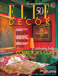 elle decor india collector s copy an indian summer