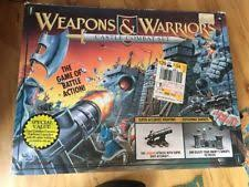 1994 WEAPONS AND WARRIORS Castle Combat Battle Board Game Vintage