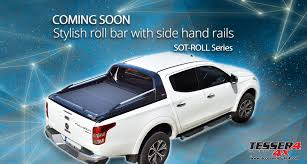 Stylish #roll #bar With #stainless #steel #sport #design #side ...
