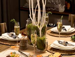 Creative Thanksgiving Centerpiece Ideas Rustic Table