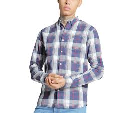 100 Toby Long Diesel Check Sleeve Shirt Free Delivery Over 29