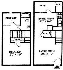Floorplans & Pricing all 1 Bedroom