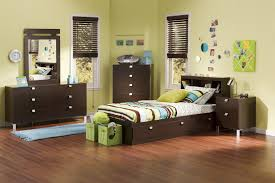 Twin Captains Bed With 6 Drawers by South Shore Cakao Twin Captains Bed 3259tbed