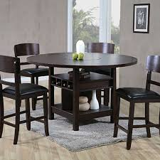 5 piece lazy susan pub table set at big lots furniture