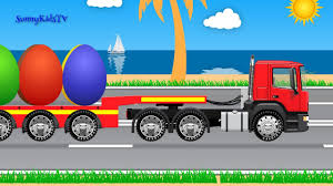 Trucks And Cars For Kids Police Cars Surprise Eggs |