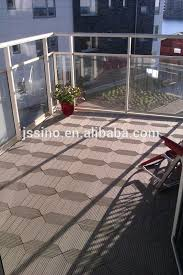 wpc flooring tile outdoor composite deck wood plastic