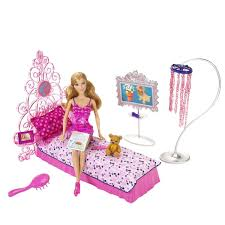 Barbie Glam Bedroom Playset 27084674798 EBay