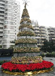 Outdoor Christmas Trees Top Photo With Pertaining To Artificial