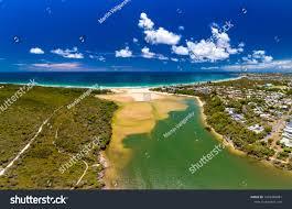100 Currimundi Beach Aerial Drone View Lake Stock Photo Edit