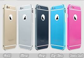 Best iPhone 6 Plus Metal Bumpers With Back Cover Cases For iPhone