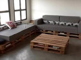 Foam Cushioned Pallet Storge Friendly Living Room Corner