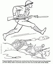 Kids Printable Army Coloring Pages 3566vvi
