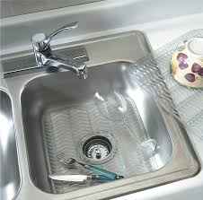 rubbermaid astonishing kitchen sink mats with drain hole in ideas
