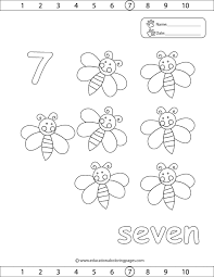 Bee Coloring Page Number 7