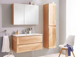 edles echtholz im badezimmer möbel höffner