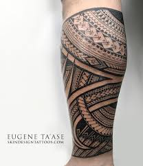 Polynesian Tattoos By Eugene Taase