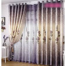 schön dekorativ pastoral polyester blumen dunkel lila