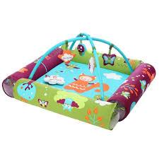 chambre bébé roumanoff katherine roumanoff aire d éveil turquoise violet orange blanc
