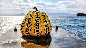 Yayoi Kusama Pumpkin Sculpture by Hello Kitty Discovering Japan U0027s Alternative Golden Triangle
