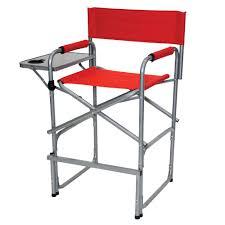 Aluminum Directors Chair Bar Height by Tall Director U0027s Chair Direcsource Ltd Ac018 21ta Folding