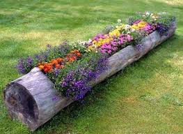 Rustic Garden Ideas 40 DIY Log Take Decor To Your Home Super Cool 32