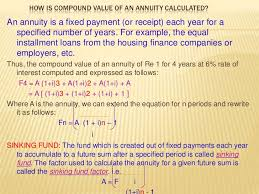 Sinking Fund Factor Calculator by Finanacial Management And Analysis Department Of Economics 11 4 11